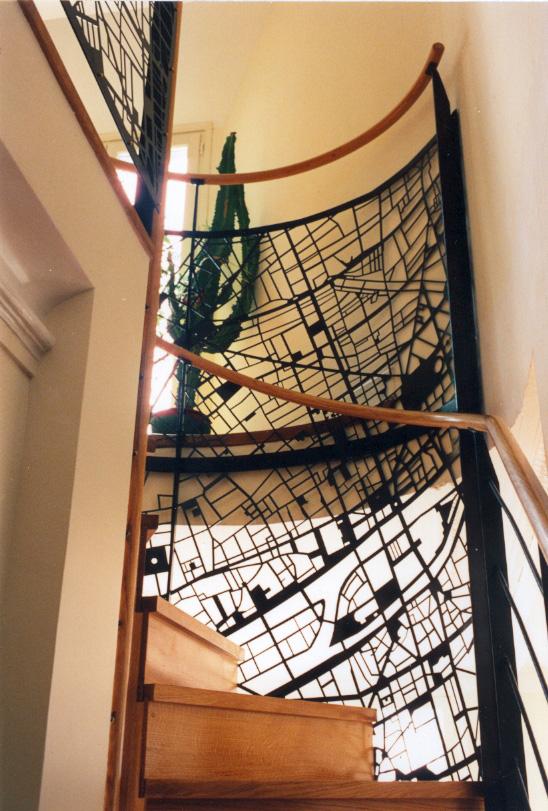 rambarde mezzanine originale trendy rambarde escalier originale lescalier moderne en photos. Black Bedroom Furniture Sets. Home Design Ideas